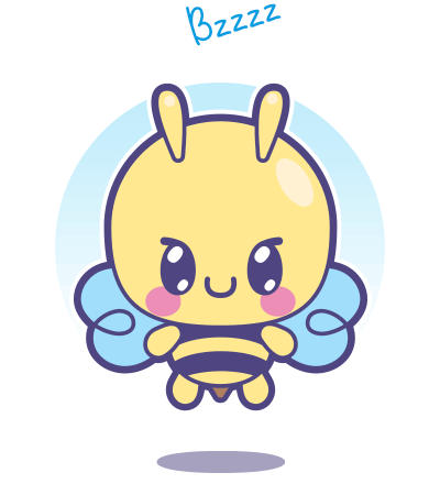 Cómo dibujar una abeja Kawaii